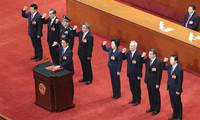 Chinese national legislature decides on new cabinet lineup