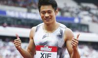 China's Xie Zhenye breaks Asian men's 200m record in London
