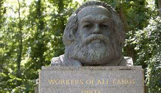 qr code introduced to karl marx tomb in london for chinese visitors