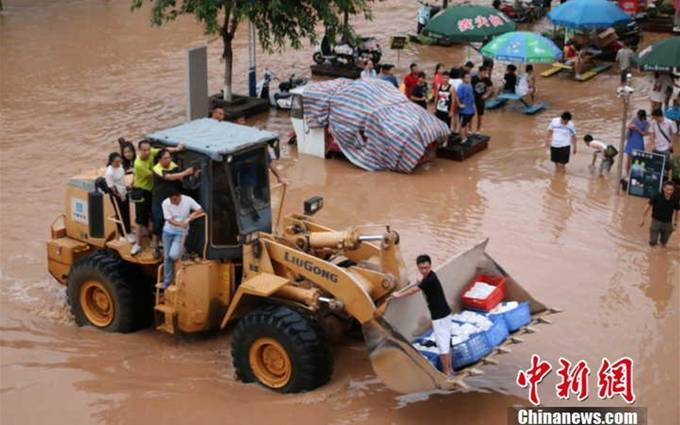 Row, row, row your boat! Life in flooded Guangxi