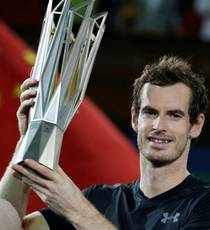 Andy Murray wins men's singles at Shanghai Masters