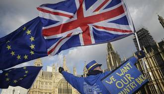 Londres : manifestation contre le Brexit